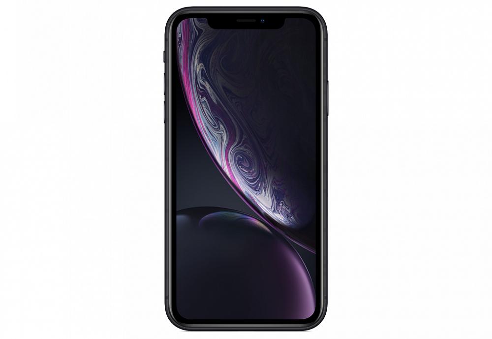 iPhone XR, 64 ГБ, черный (новая комплектация)