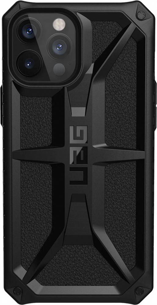 Чехол Monarch для iPhone 12 Pro Max, черный