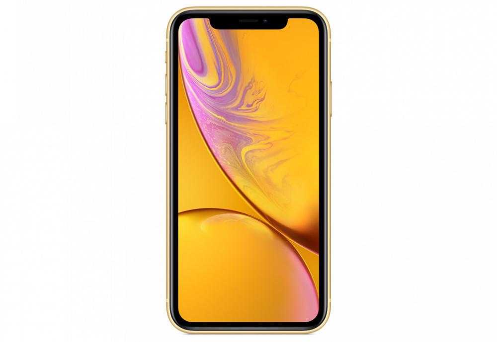 iPhone XR, 64 ГБ, желтый (новая комплектация)