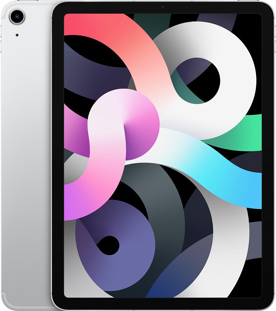 iPad Air Wi-Fi + Cellular 64 ГБ, серебристый
