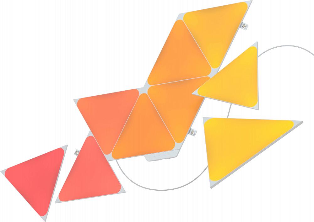 Светильник Shapes Triangles, 9 панелей