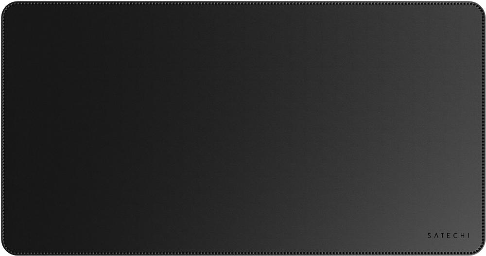 Коврик для мыши Eco Leather Deskmate, черный