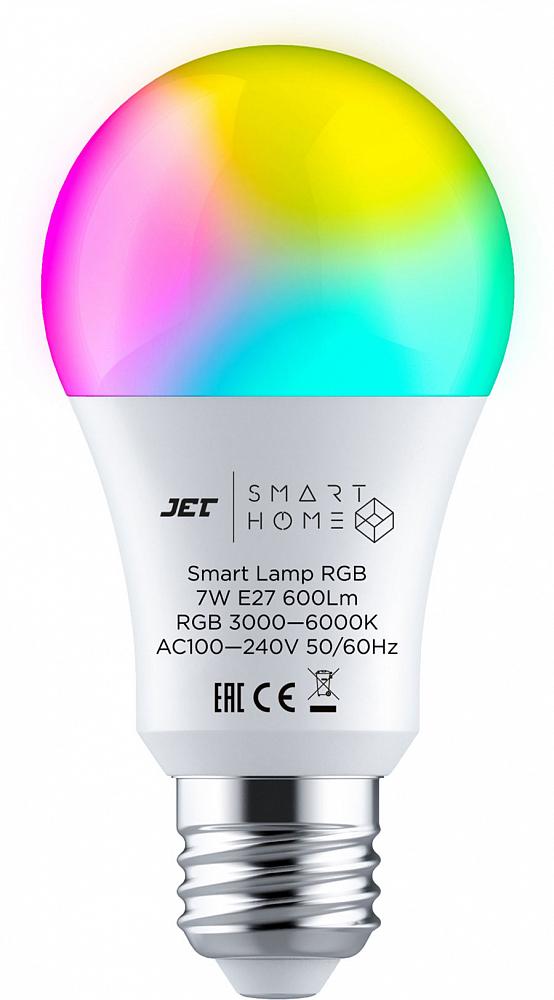 Умная лампа JET Smart Home Lamp RGB