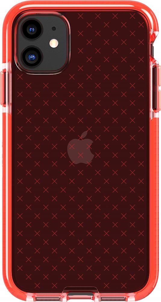 Чехол Evo Check для iPhone 11, полиуретан, коралловый