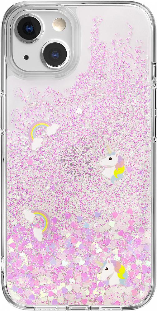 Чехол Starfield для iPhone 13, полиуретан, Happy Park