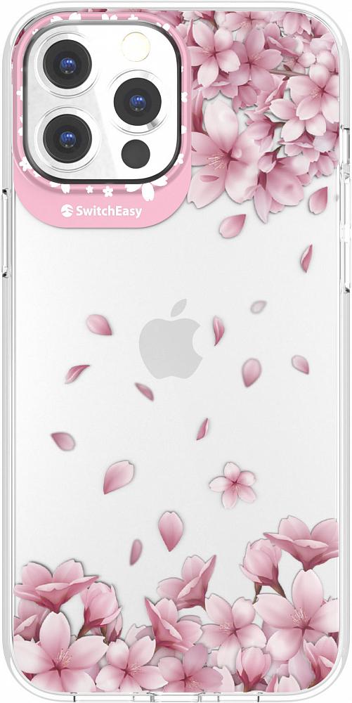 Чехол Artist для iPhone 13 Pro Max, пластик, Sakura