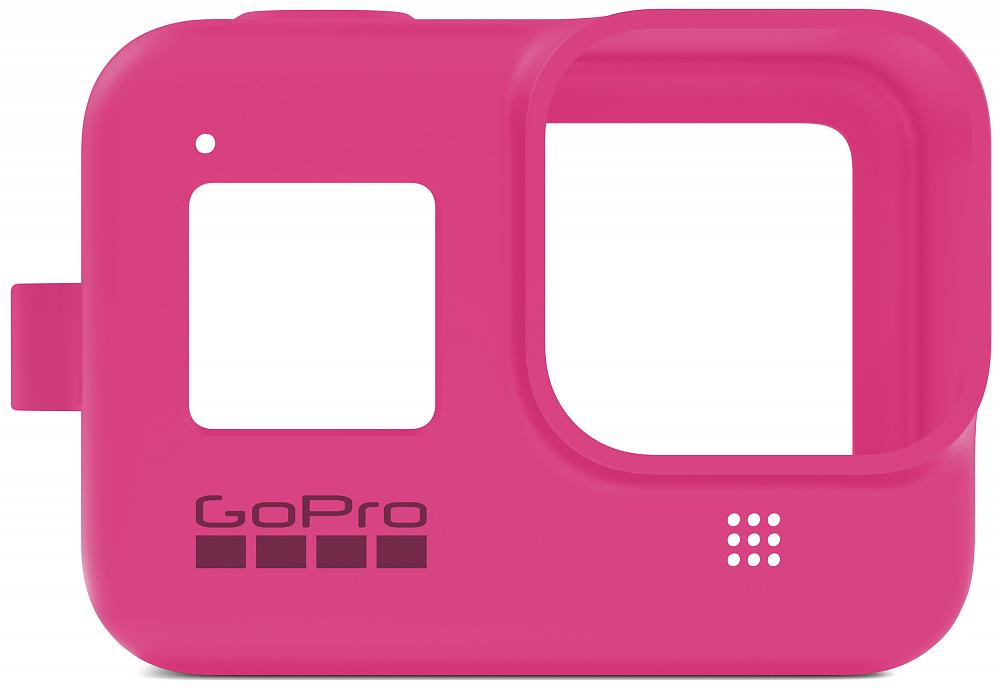 Чехол для камеры HERO8, силикон, розовый