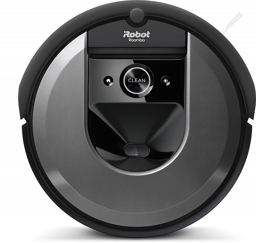 Робот-пылесос Roomba i7+, черный