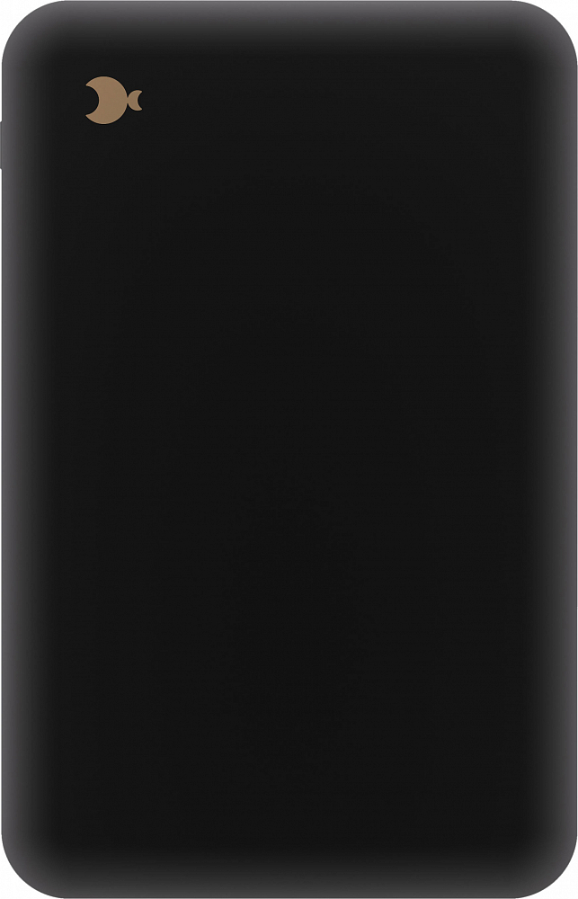 Внешний аккумулятор 10000 мАч, Smart IC, черный фото
