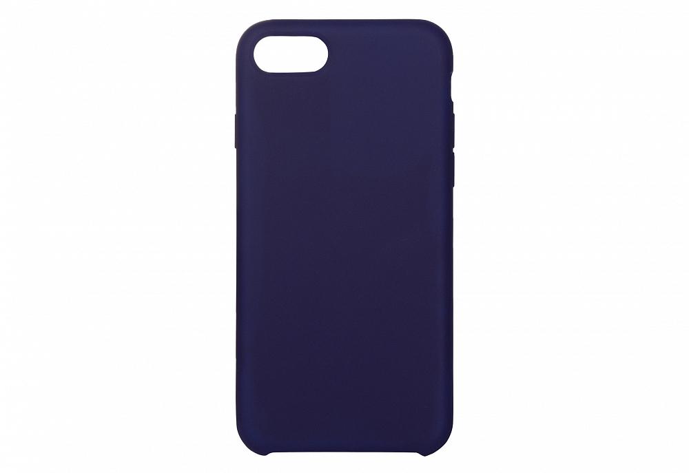 Чехол для iPhone 8/SE, силикон, темно-синий