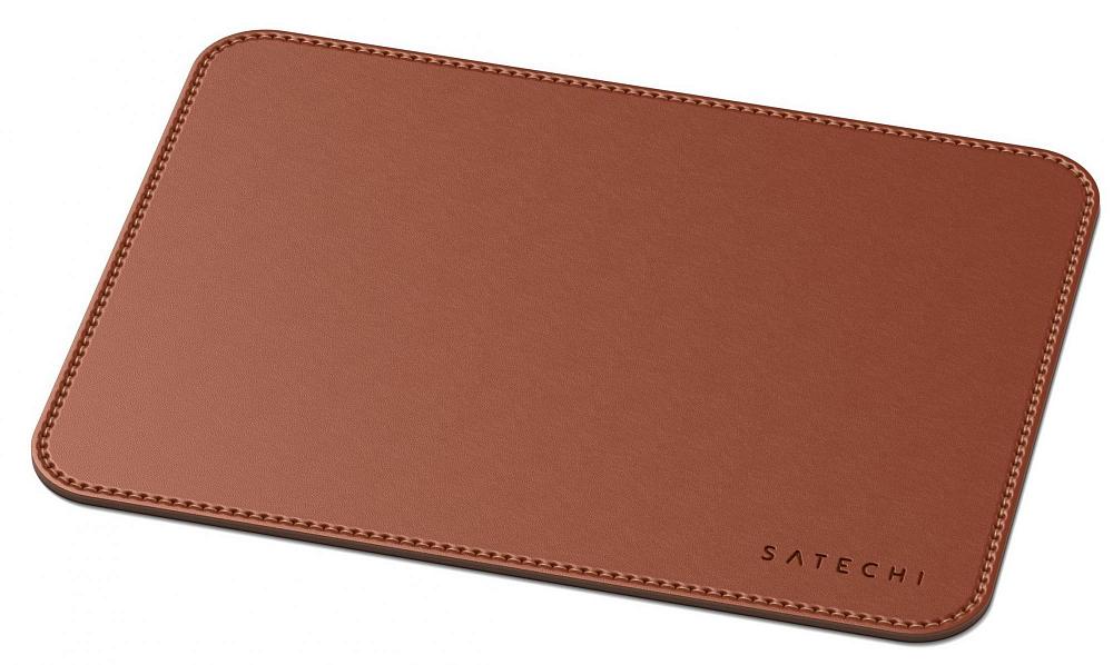 Коврик для мыши Eco Leather Mouse Pad, коричневый