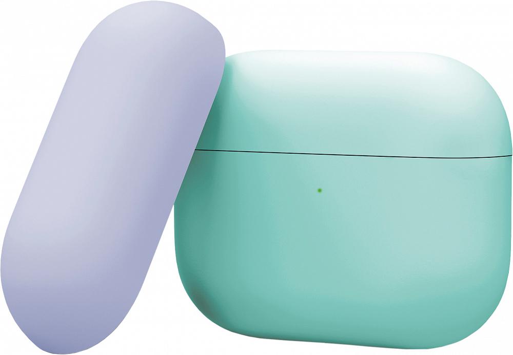 Чехол для AirPods Pro, силикон, морской