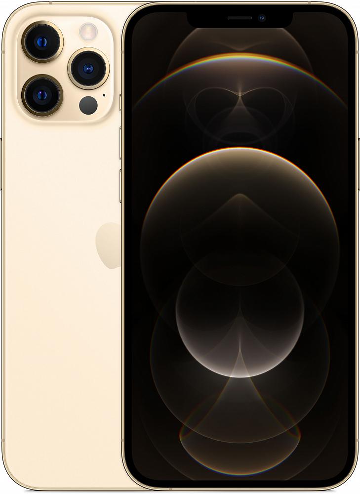 iPhone 12 Pro Max, 128 ГБ, золотой