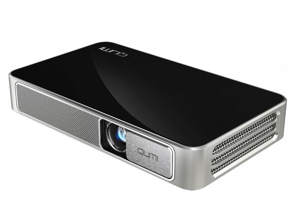 Портативный проектор Qumi Q3 Plus черный