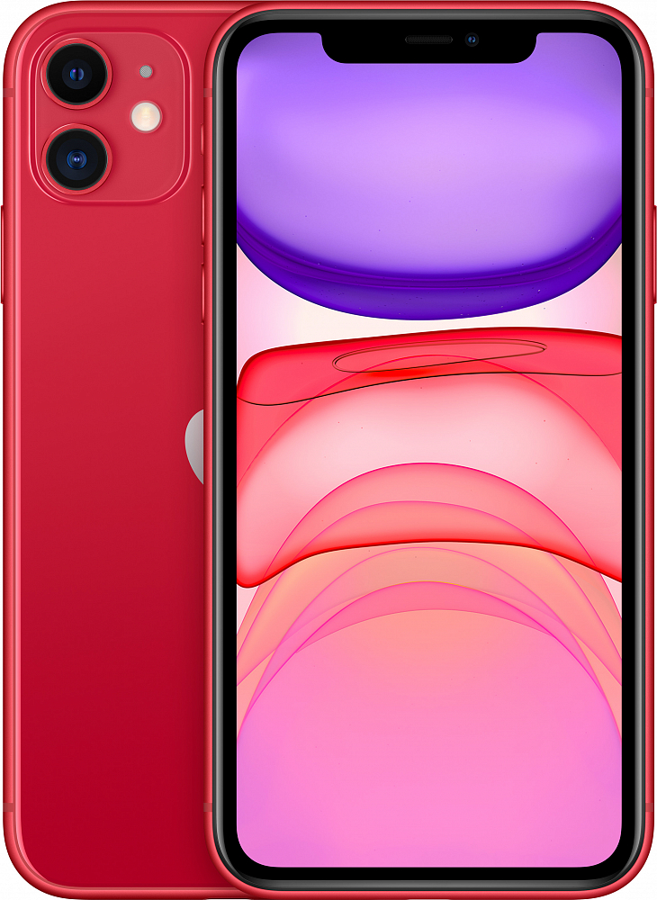 iPhone 11, 64 ГБ, (PRODUCT)RED (новая комплектация)