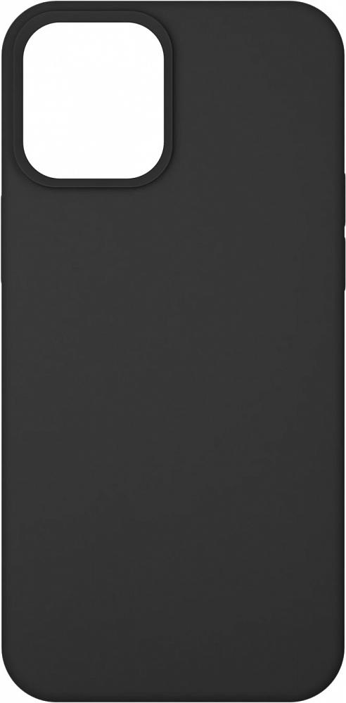 Чехол для iPhone 12/12 Pro, силикон, черный